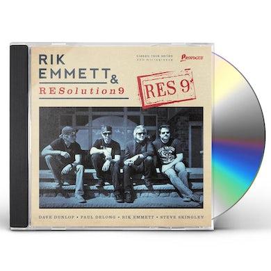 Rik Emmett & Resolution 9 RES9 CD