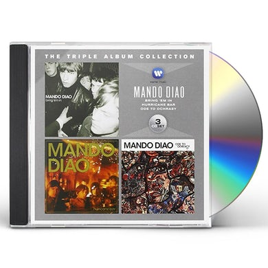 Mando Diao TRIPLE ALBUM COLLECTION CD