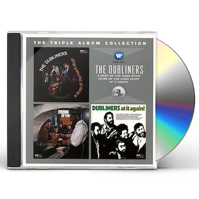Dubliners TRIPLE ALBUM COLLECTION CD