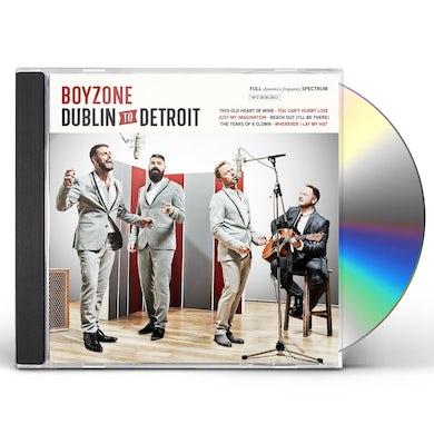 Boyzone DUBLIN TO DETROIT CD