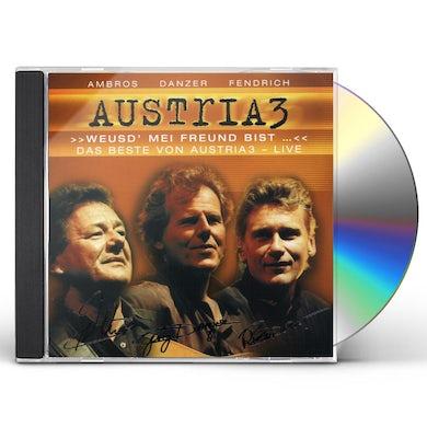 Austria 3 WEUSD` MEI FREUND BIST DAS BESTE VON A CD