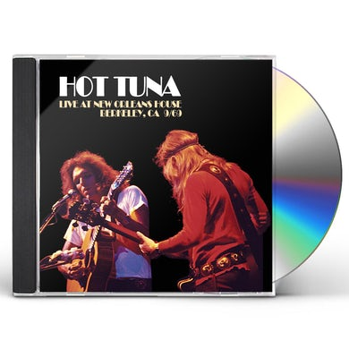 Hot Tuna LIVE AT NEW ORLEANS HOUSE BERKELEY CA 9/69 CD