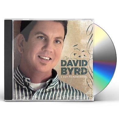 David Byrd DAY TO REMEMBER CD