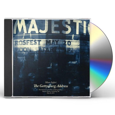 Moon Safari GETTYSBURG ADDRESS CD