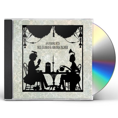 AN EVENING WITH NEIL GAIMAN & AMANDA PALMER CD