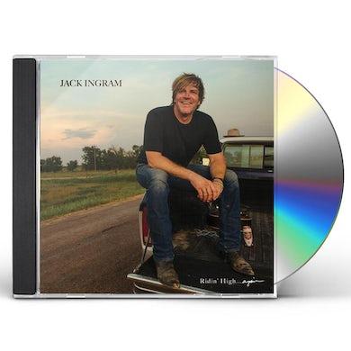 Jack Ingram RIDIN' HIGH AGAIN CD