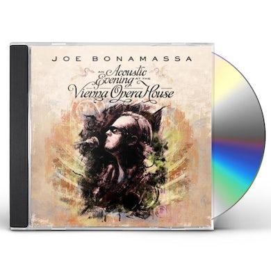 Joe Bonamassa ACOUSTIC EVENING AT THE VIENNA OPERA HOUSE CD