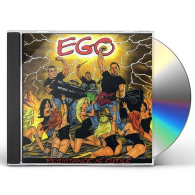 Ego RESISTANCE IS FUTILE CD