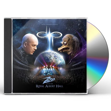 Devin Townsend Project ZILTOID LIVE AT THE ROYAL ALBERT HALL CD