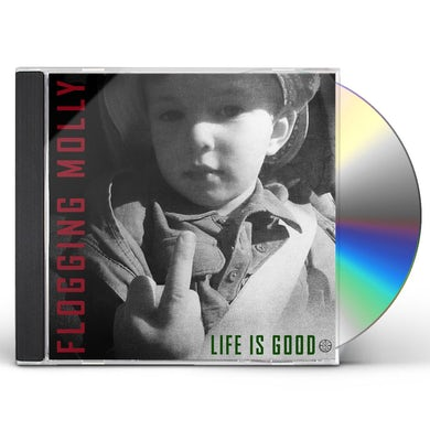 Flogging Molly LIFE IS GOOD CD