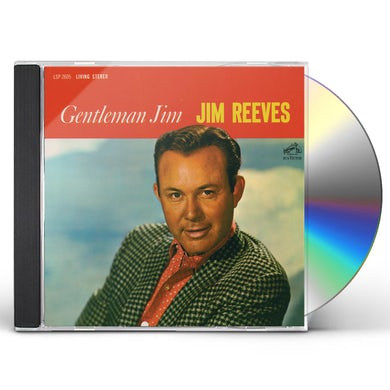 Jim Reeves GENTLEMAN JIM CD