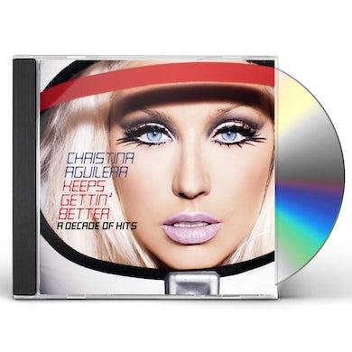 Christina Aguilera KEEPS GETTIN BETTER CD