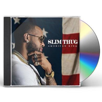 Slim Thug AMERICAN KING CD