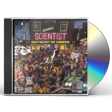 Scientist HEAVYWEIGHT DUB CHAMPION CD