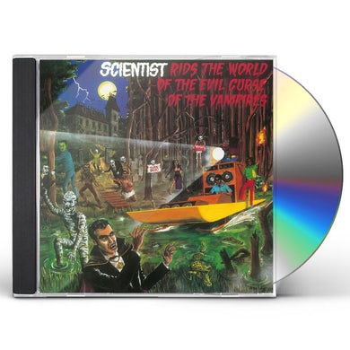 Scientist RIDS THE WORLD OF THE EVIL CURSE OF THE VAMPIRES CD