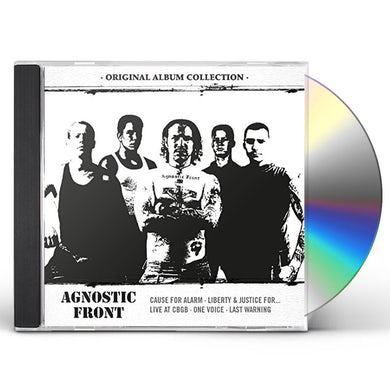 Agnostic Front ORIGINAL ALBUM COLLECTION: DISCOVERING AGNOSTIC CD