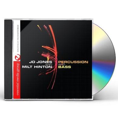 Jo Jones PERCUSSION AND BASS CD