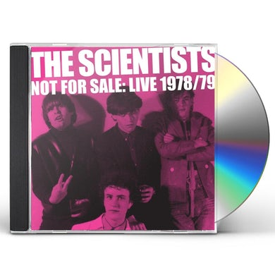 The Scientists NOT FOR SALE: LIVE '78/'79 CD