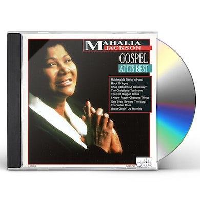 Mahalia Jackson GOSPEL AT ITS BEST CD