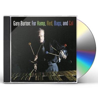 Gary Burton FOR HAMP RED BAGS & CAL CD