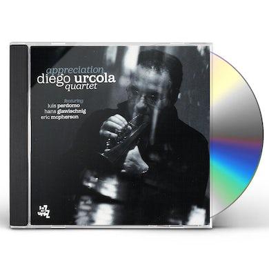 Diego Urcola APPRECIATION CD