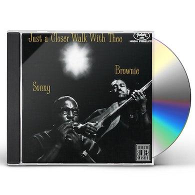 Sonny Terry / Brownie McGhee  JUST A CLOSER WALK CD