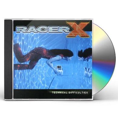 Racer X TECHNICAL DIFFICULTIES CD