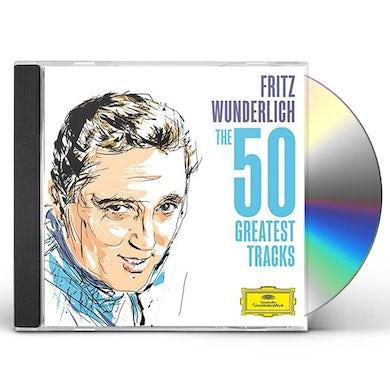 Fritz Wunderlich WUNDERLICH - THE 50 GREATEST TRACKS CD