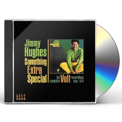Jimmy Hughes SOMETHING EXTRA SPECIAL: COMPLETE VOLT REC 1968-71 CD
