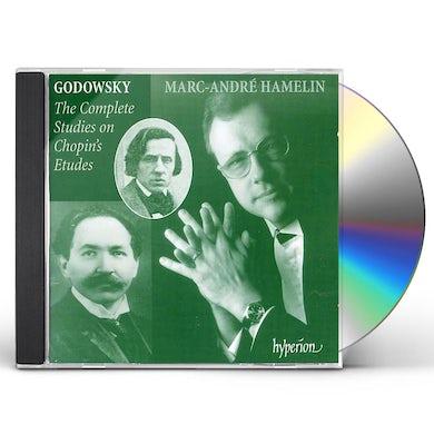Marc-Andre Hamelin GODOWSKY: COMPLETE STUDIES ON CHOPIN'S ETUDES CD