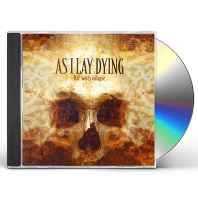 As I Lay Dying FRAIL WORDS COLLAPSE CD