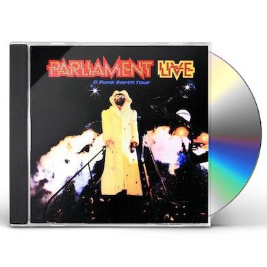Parliament P-FUNK EARTH TOUR CD