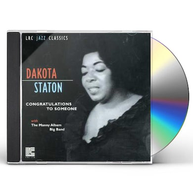 Dakota Staton CONGRATULATIONS TO SOMEBODY CD