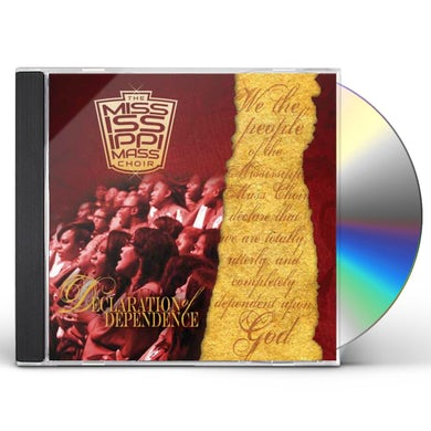 Mississippi Mass Choir DECLARATON OF DEPENDENCE CD