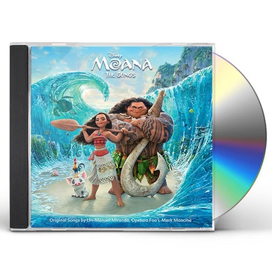 MOANA: THE SONGS / Original Soundtrack CD