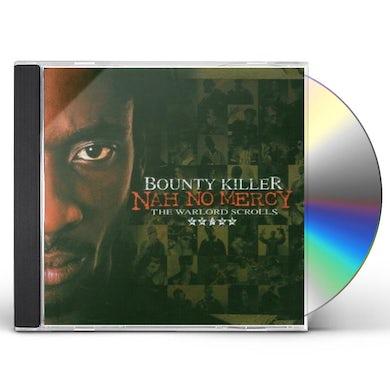 Bounty Killer NAH NO MERCY: THE WARLORD SCROLLS CD