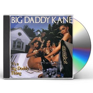 Big Daddy Kane IT'S A BIG DADDY THING CD