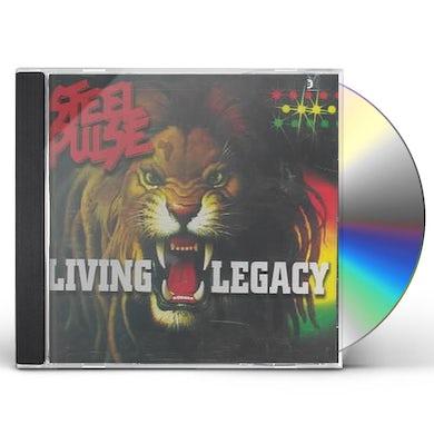 Steel Pulse LIVING LEGACY CD