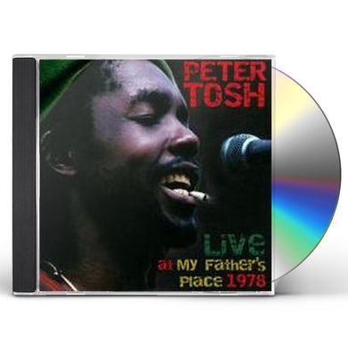Peter Tosh LIVE AT MY FATHERS PLACE 1978 CD