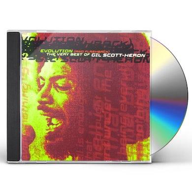 Gil Scott-Heron EVOLUTION & FLASHBACK: VERY BEST OF CD