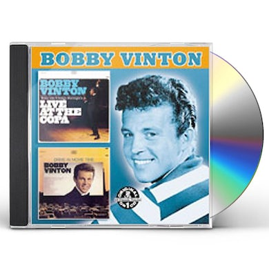 Bobby Vinton LIVE AT THE COPA / DRIVE-IN MOVIE TIME CD
