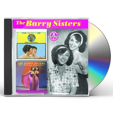 WORLD OF THE BARRY SISTERS / WE BELONG TOGETHER CD