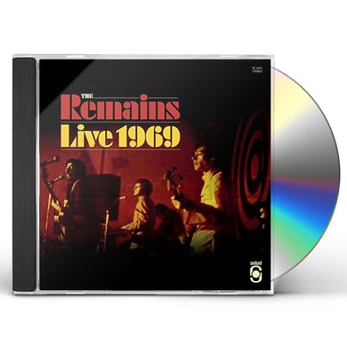 Remains LIVE 1969 CD