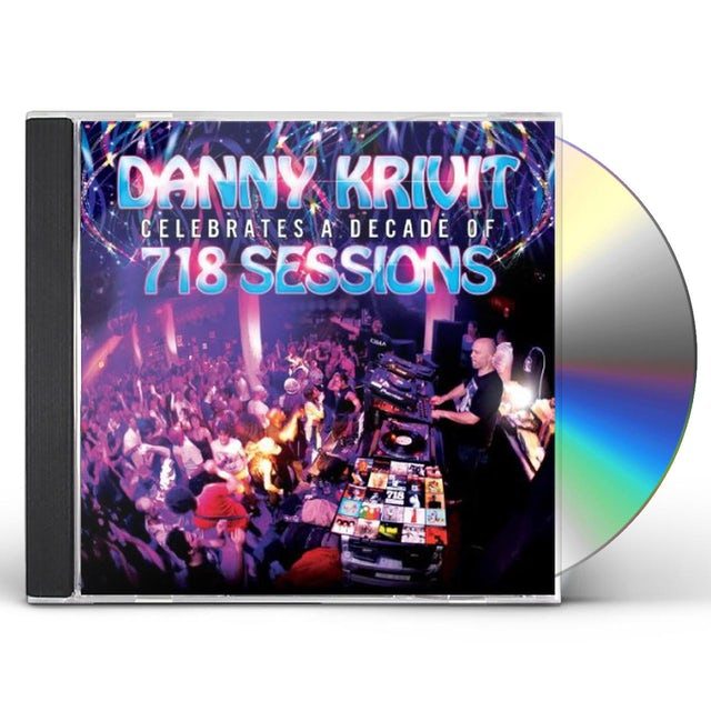 Danny Krivit CELEBRATES A DECADE OF 718 SESSIONS CD