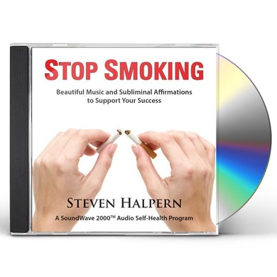 Steven Halpern STOP SMOKING CD
