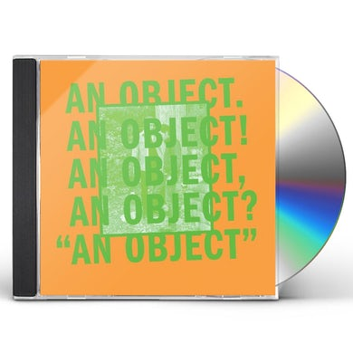 No Age AN OBJECT CD