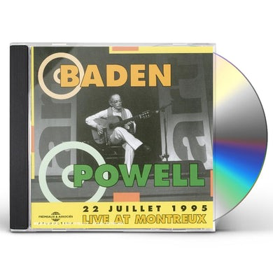 Baden Powell LIVE IN MONTREUX CD