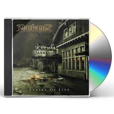 Darkane LAYERS OF LIVE CD