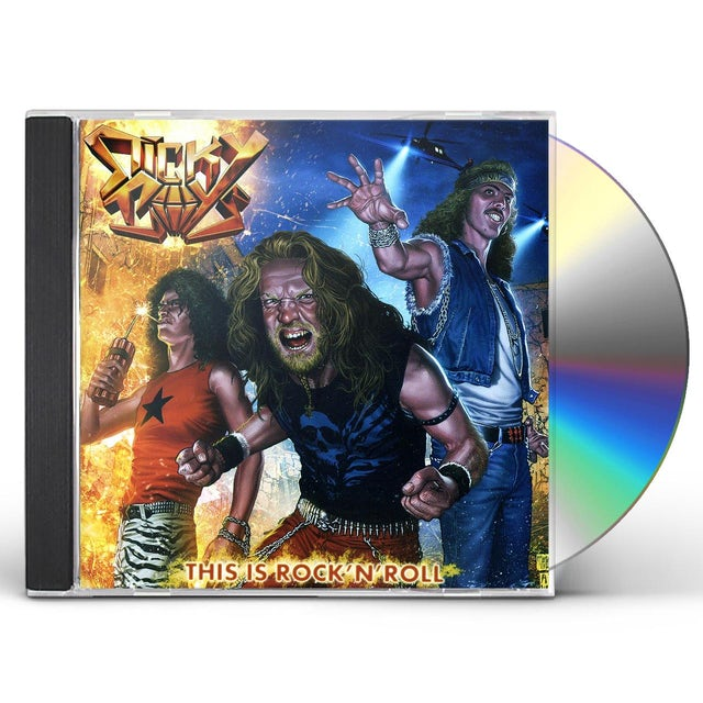 Sticky Boys THIS IS ROCK N ROLL CD