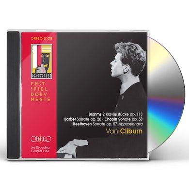 Van Cliburn BARBER BEETHOVEN BRAHMS CHOPIN CD